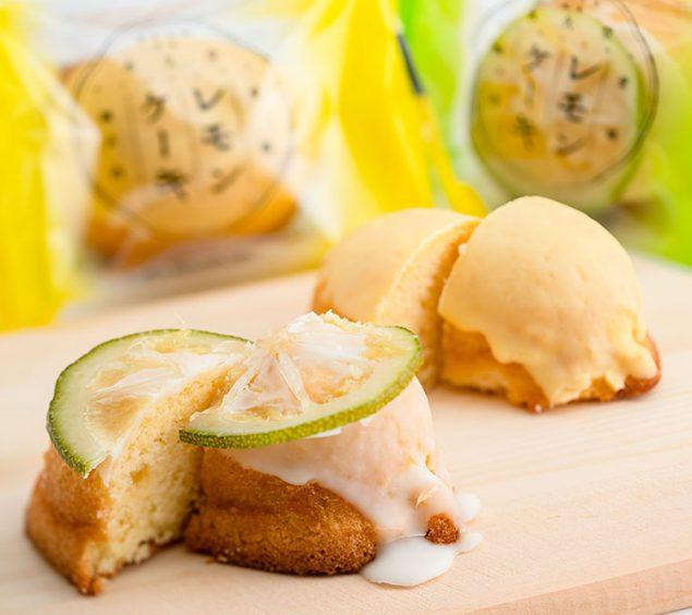 永久堂 瀬戸内レモンケーキ/青いレモンケーキ